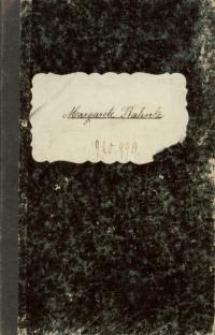 Notatatnik Margarete Rahnke