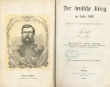 Der deutsche Krieg im Jahre 1866