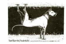 Bartłomiej Kuźnicki - Wystawa Prac w Galerii El - afisz mały