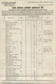 Cennik detaliczny produktów ogrodniczych nr 7 / 80 – ulotka