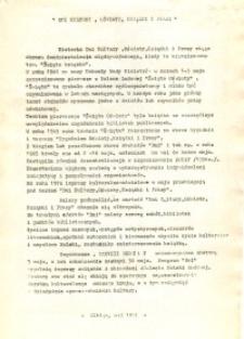 """""""Dni kultury, oświaty, książki i prasy"""" - 1984 - ulotka"""