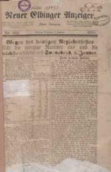 Neuer Elbinger Anzeiger 1856