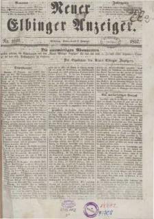 Neuer Elbinger Anzeiger 1857