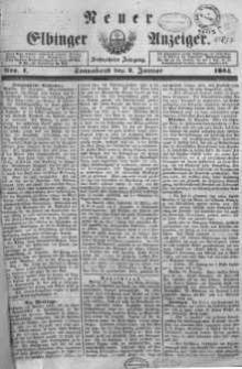 Neuer Elbinger Anzeiger 1864