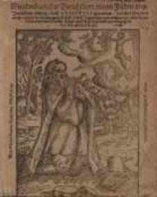 Wunderbarlicher Bericht von einem Juden aus Jerusalem bürtig, und Ahasverus genennet, welcher fürgibt als sey er bey der...