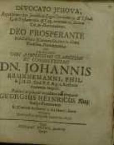 Invocato Jehova, Repetitiones has Iuridicas Legis Omnium 19. & I. final. C. de Testamentis & Cap. relatum II. Eodem Tit. in...