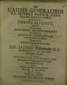 De causis generalibus ex quibus Poneae capitales moderamen...