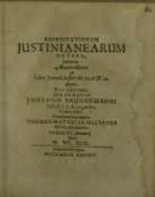 Exercitationum Justinianearum octava...