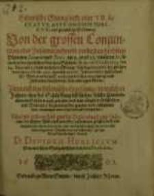 Historische Sternglocke oder Tractatus Astronomistoricus, und gründliche Erklerung, Von der grossen Conjunction oder ...