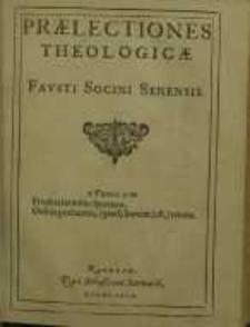 Praelectiones theologicae