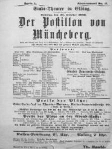 Der Postillon von Müncheberg - E. Jacobsohn