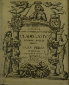 Gestorum...Vladislai IV., Poloniae et Sueciae regis pars 1