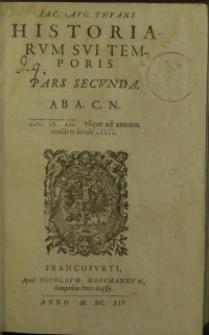 Historiarum sui temporis. Pars 2.