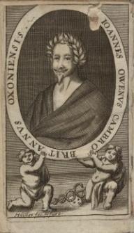 Epigrammatum Joannis Oweni, Cambro-Britanni Oxoniensis, Editio Postrema : correctissima posthumis quibusdam adaucta...