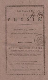 Annalen der Physik. Bd. 19
