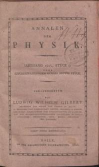 Annalen der Physik. Bd. 21