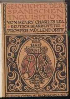 Geschichte der Spanischen Inquisition. Bd. 2.