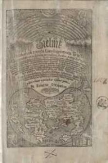 Zielnik Herbarzem z ięzyka Łacinskiego zowią. To iest Opisanie własne imion, kształtu, przyrodzenia, skutkow, y mocy Zioł ...