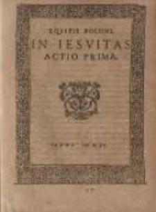 Equitis Poloni in Iesuitas: actio prima