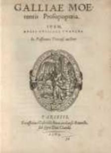 Galliae moerentis prosopopoeia. : Item, ducis Guisiaci tumulus ...