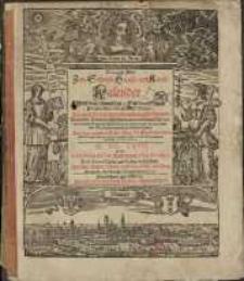Neuer und Alter Schreib-Calender... 1667