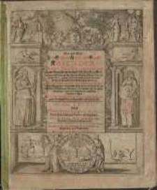 Neuer und Alter Schreib-Calender... 1668