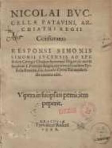 Confutatio responsi Simonis Simonii Lucensis ad epistolam Georgii Chiakor... de morte Stephani I Poloniæ regis