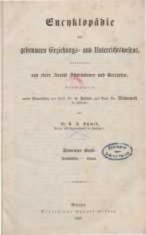 Encyklopädie des gesammten Erziehungs- und Unterrichtswesens ... Bd. 7.
