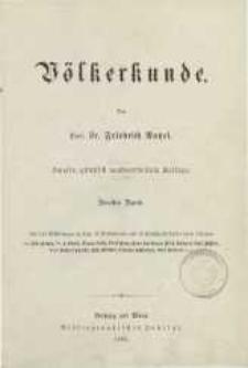 Völkerkunde. Bd. 2.