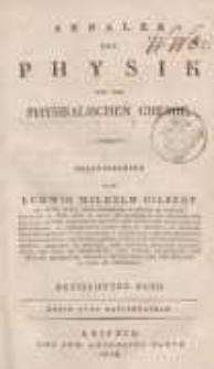 Annalen der Physik. Bd. 73