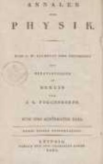 Annalen der Physik. Bd. 85