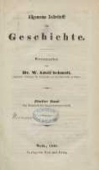 Zeitschrift für Geschichtswissenschaft, 1846, T. 5.