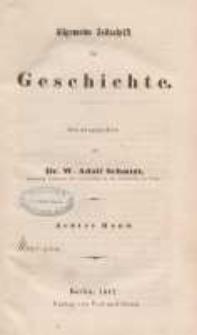 Zeitschrift für Geschichtswissenschaft, 1847, T. 8.