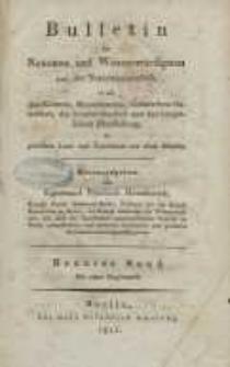 Bulletin des Neuesten und Wissenswürdigsten aus der Naturwissenschaft [...] H. 9.