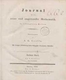 Journal für die reine und angewandte Mathematik. T. 6.