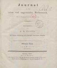 Journal für die reine und angewandte Mathematik. T. 7.