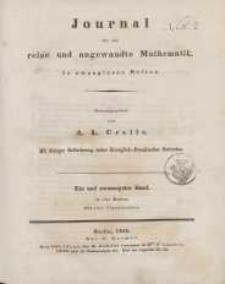 Journal für die reine und angewandte Mathematik. T. 21.