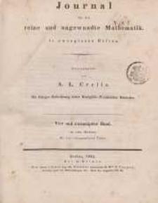 Journal für die reine und angewandte Mathematik. T. 24.