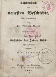 Taschenbuch der neuesten Geschichte, 1837