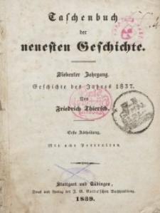 """""""Taschenbuch der neuesten Geschichte"""", 1839"""