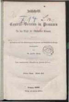 Zeitschrift des Zentral-Vereins in Preussen für das Wohl der arbeitenden Klassen. Bd. 3.