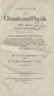 Jahrbuch der Chemie und Physik (Journal für Chemie und Physik), H. 16