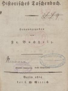 Historisches Taschenbuch für das Jahr, 1814, T. 2.