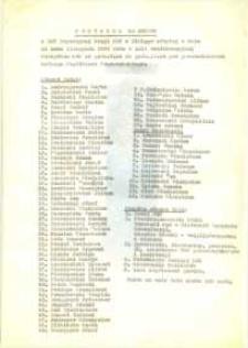 Protokół Nr 25/68 z 25 Zwyczajnej Sesji Miejskiej Rady Narodowej w Elblągu - maszynopis