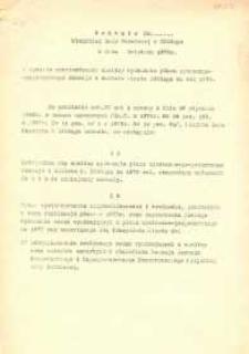 Uchwała Miejskiej Rady Narodowej w Elblągu z kwietnia 1979 r. w sprawie zatwierdzenia analizy wykonania planu...