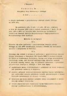 Uchwała Miejskiej Rady Narodowej w Elblągu o planie społeczno-gospodarczego rozwoju miasta Elbląga na rok 1978 - druk