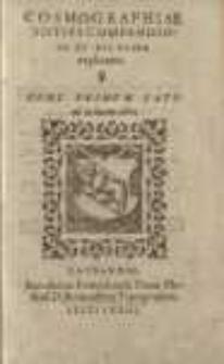Cosmographiae totius compendiosa et dilucida explicatio