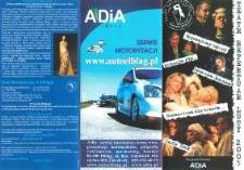 Repertuar Teatru Dramatycznego w Elblągu: luty 2005 r. – folder z programem teatralnym