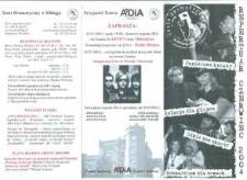 Repertuar Teatru Dramatycznego w Elblągu: czerwiec 2004 r. – folder z programem teatralnym