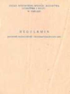 Regulamin Gminnych, Wojewódzkich i Krajowych Konkursów Orki - broszura